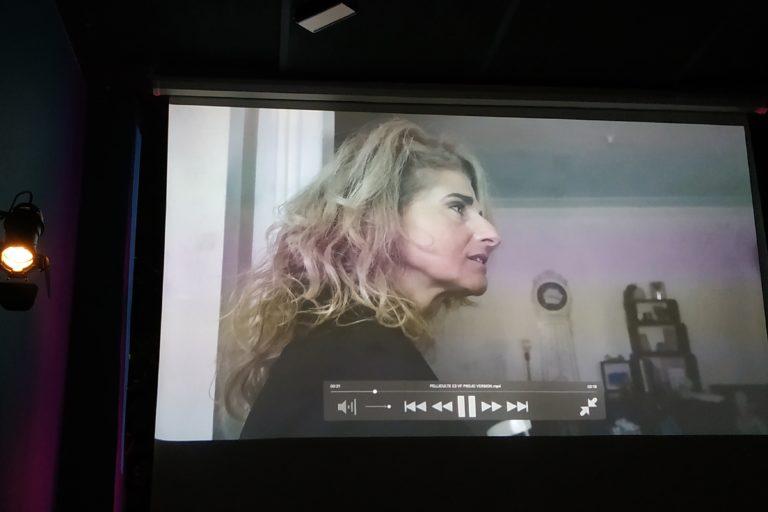 Tournage court métrage Sabrina Nanni comédienne actrice